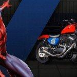Süper Kahramanların Harley Davidson Motorları